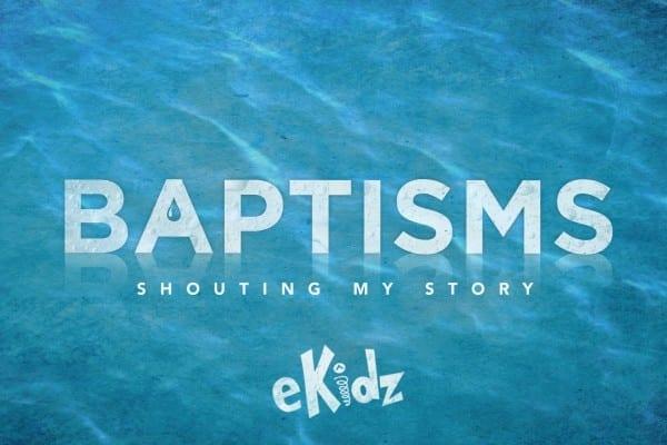 Baptism eKidz